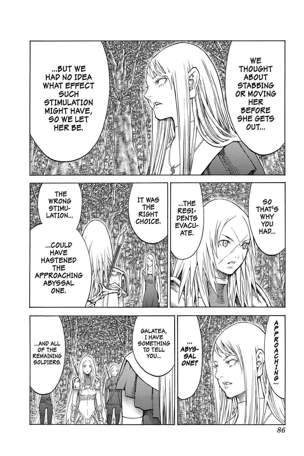Claymore Chapter 128 Page 20