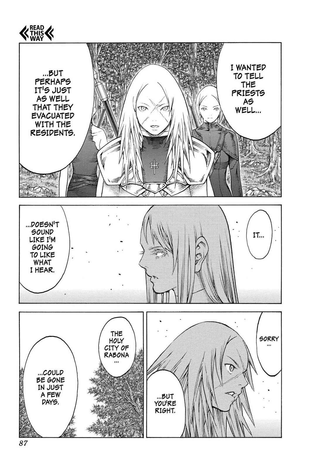 Claymore Chapter 128 Page 21