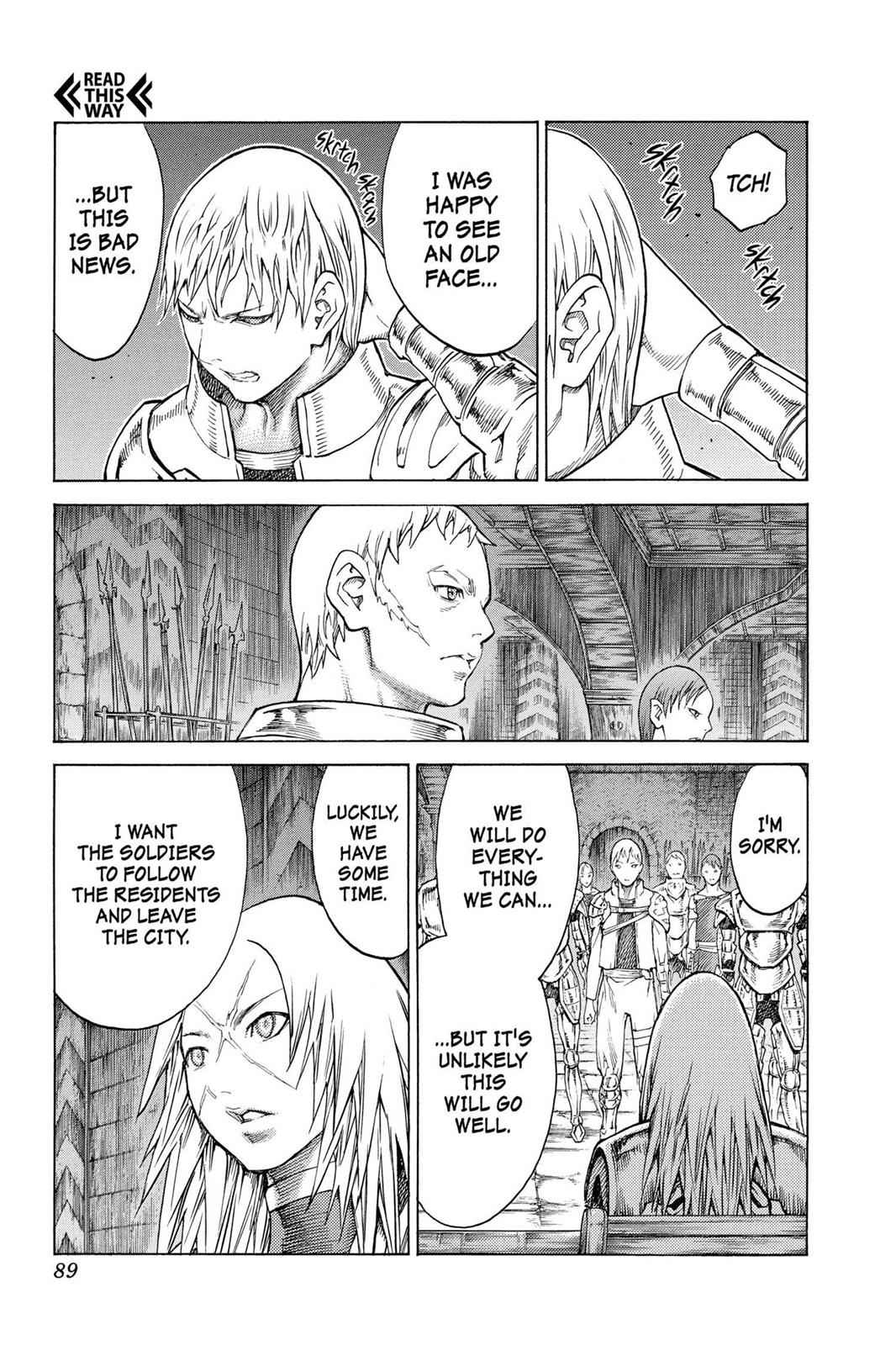 Claymore Chapter 128 Page 23