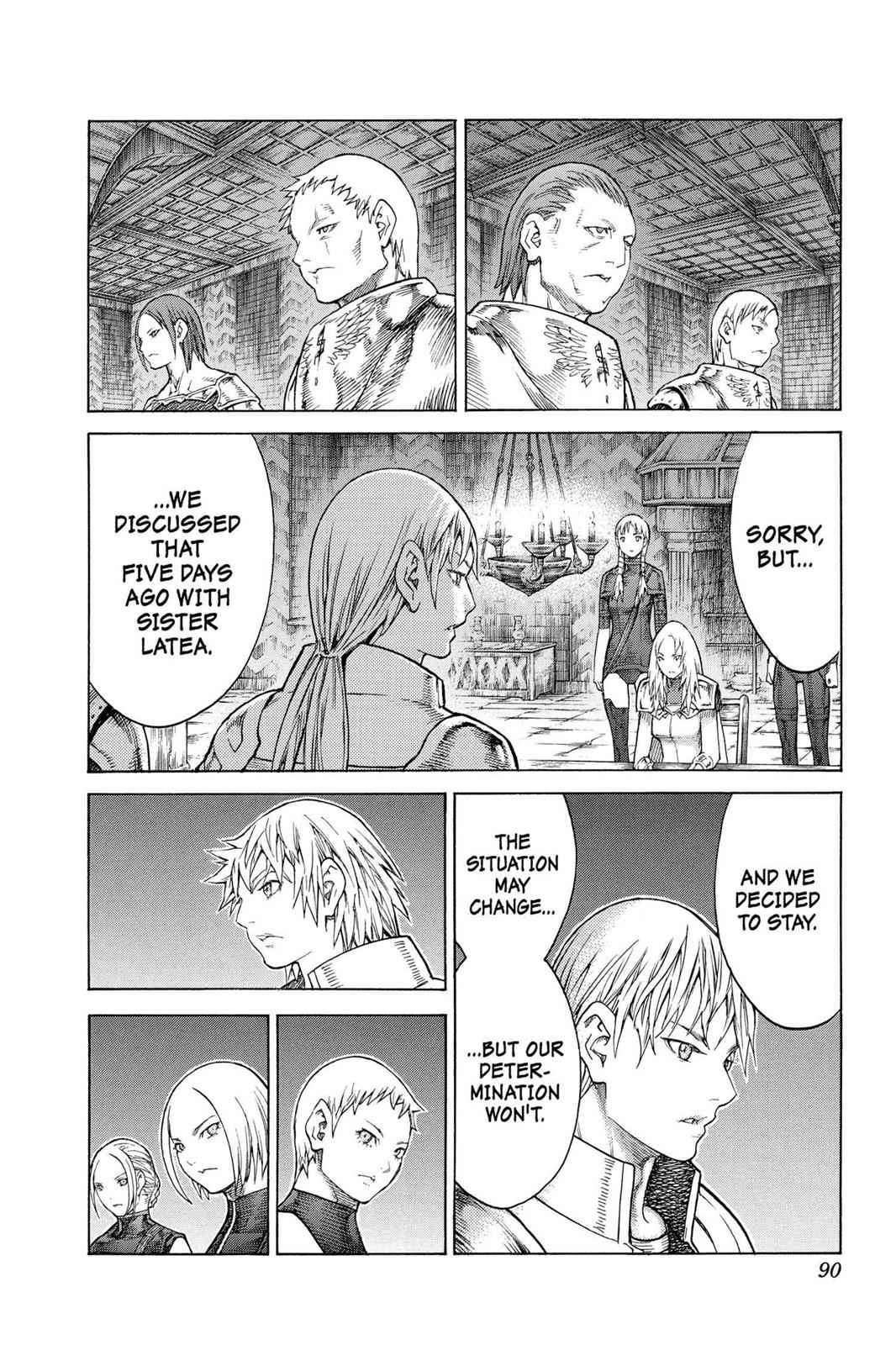 Claymore Chapter 128 Page 24