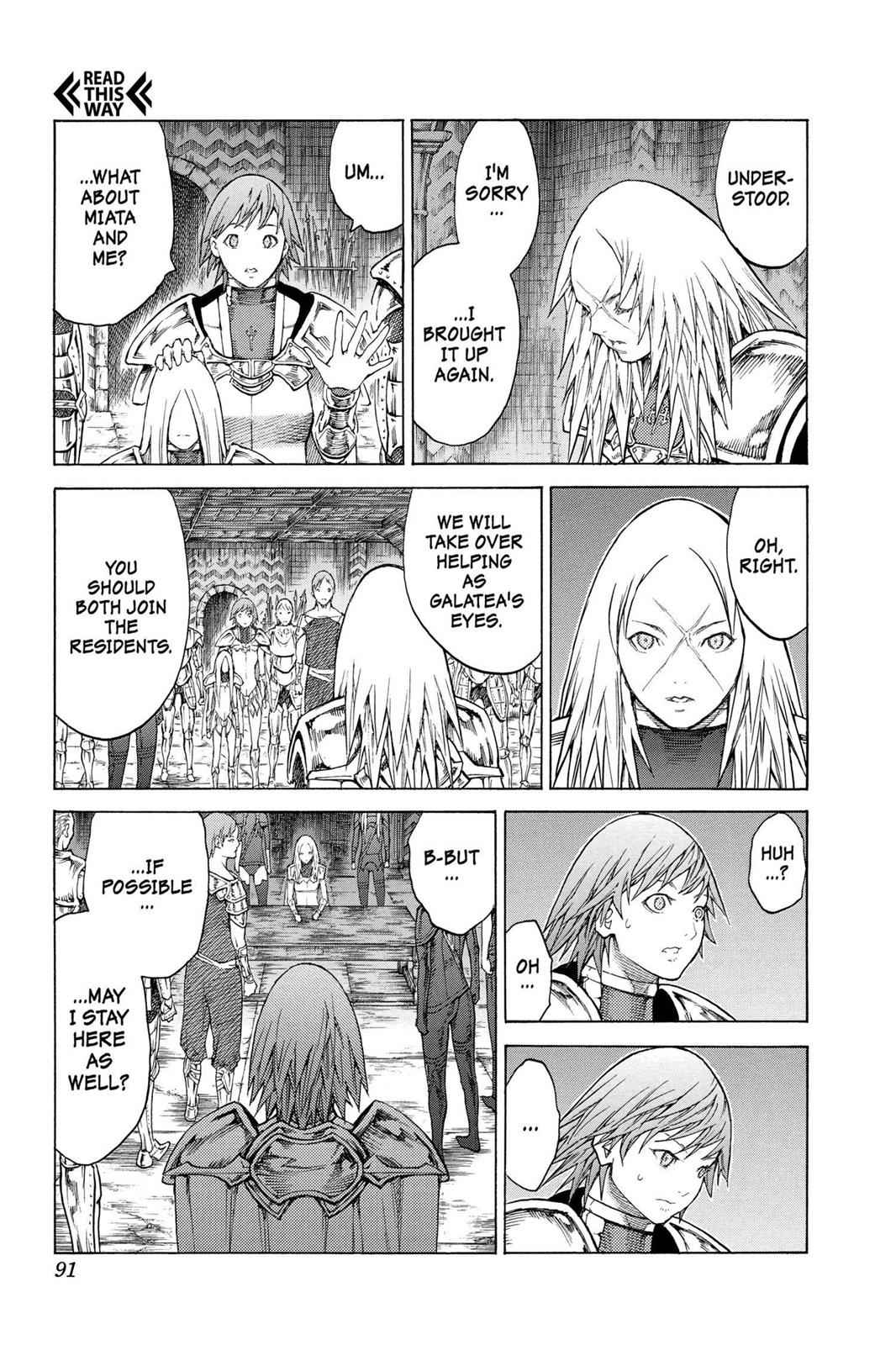 Claymore Chapter 128 Page 25