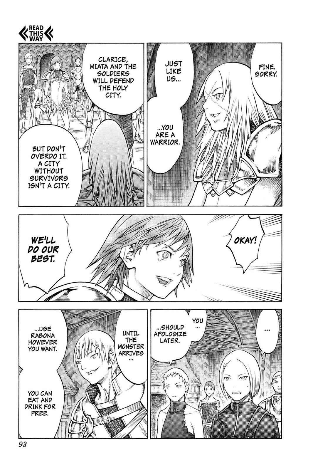 Claymore Chapter 128 Page 27
