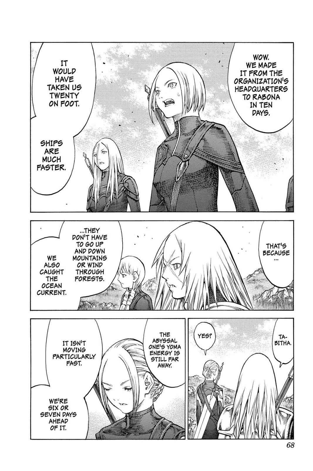 Claymore Chapter 128 Page 3