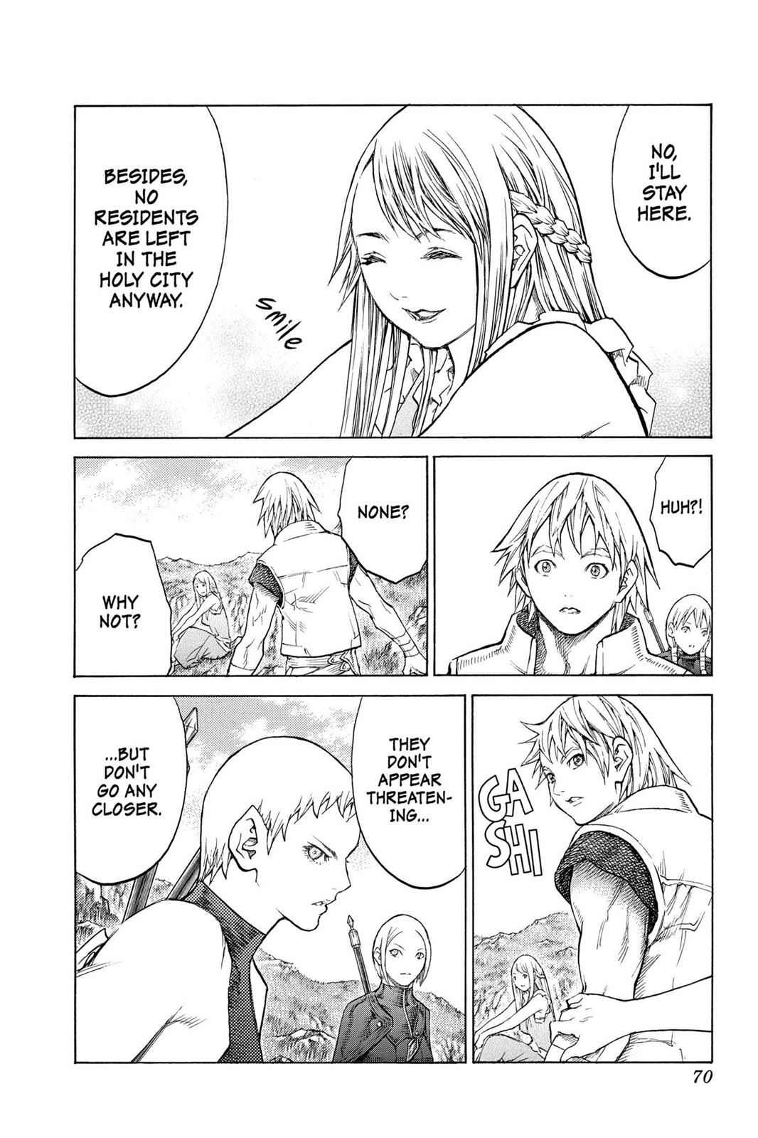 Claymore Chapter 128 Page 5