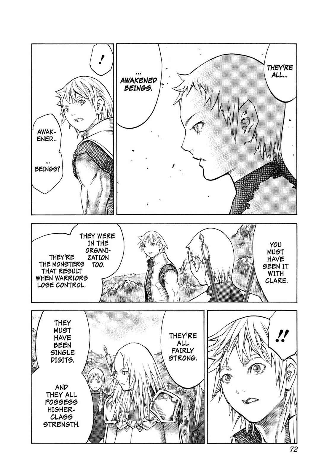 Claymore Chapter 128 Page 7