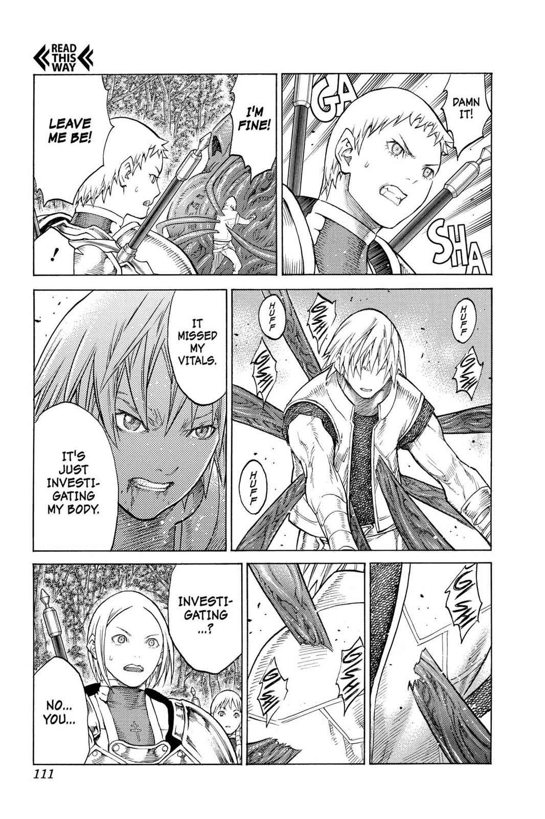 Claymore Chapter 129 Page 13