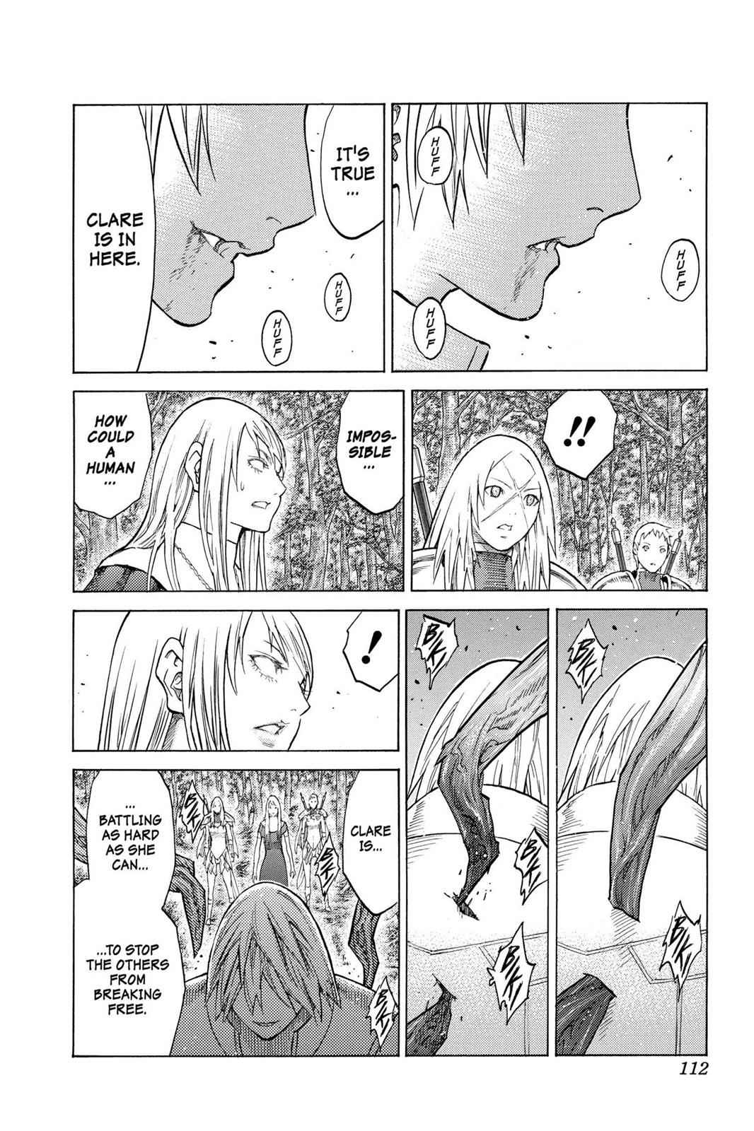 Claymore Chapter 129 Page 14