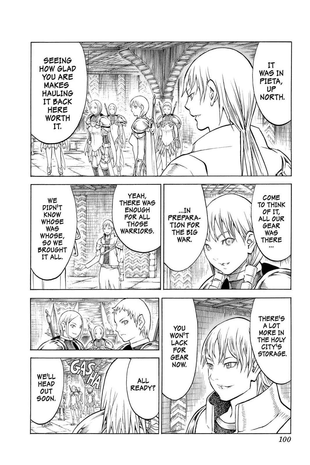 Claymore Chapter 129 Page 3