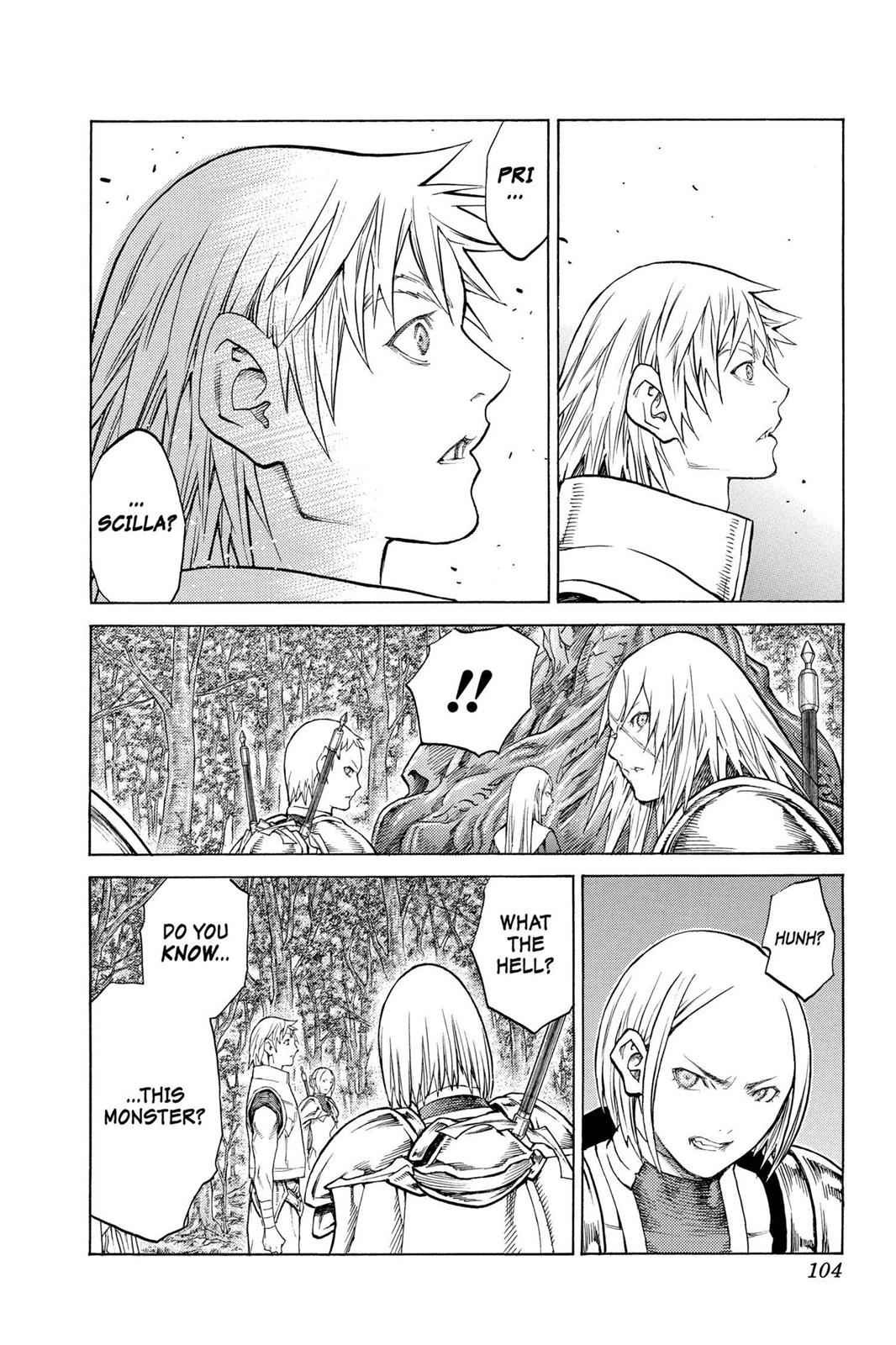 Claymore Chapter 129 Page 6