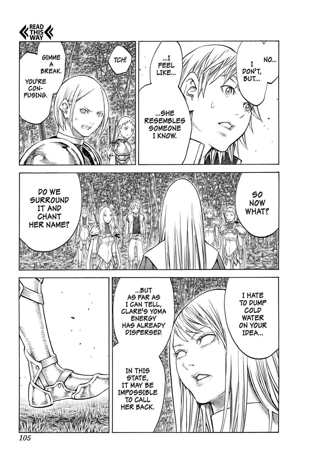 Claymore Chapter 129 Page 7