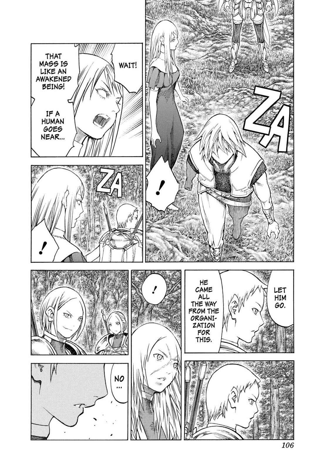 Claymore Chapter 129 Page 8