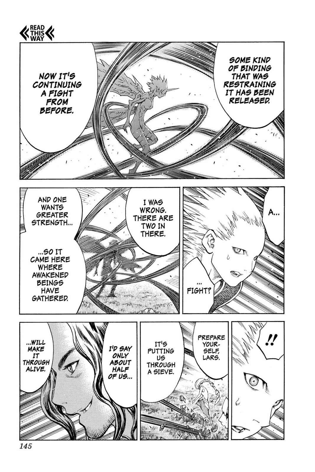 Claymore Chapter 130 Page 13