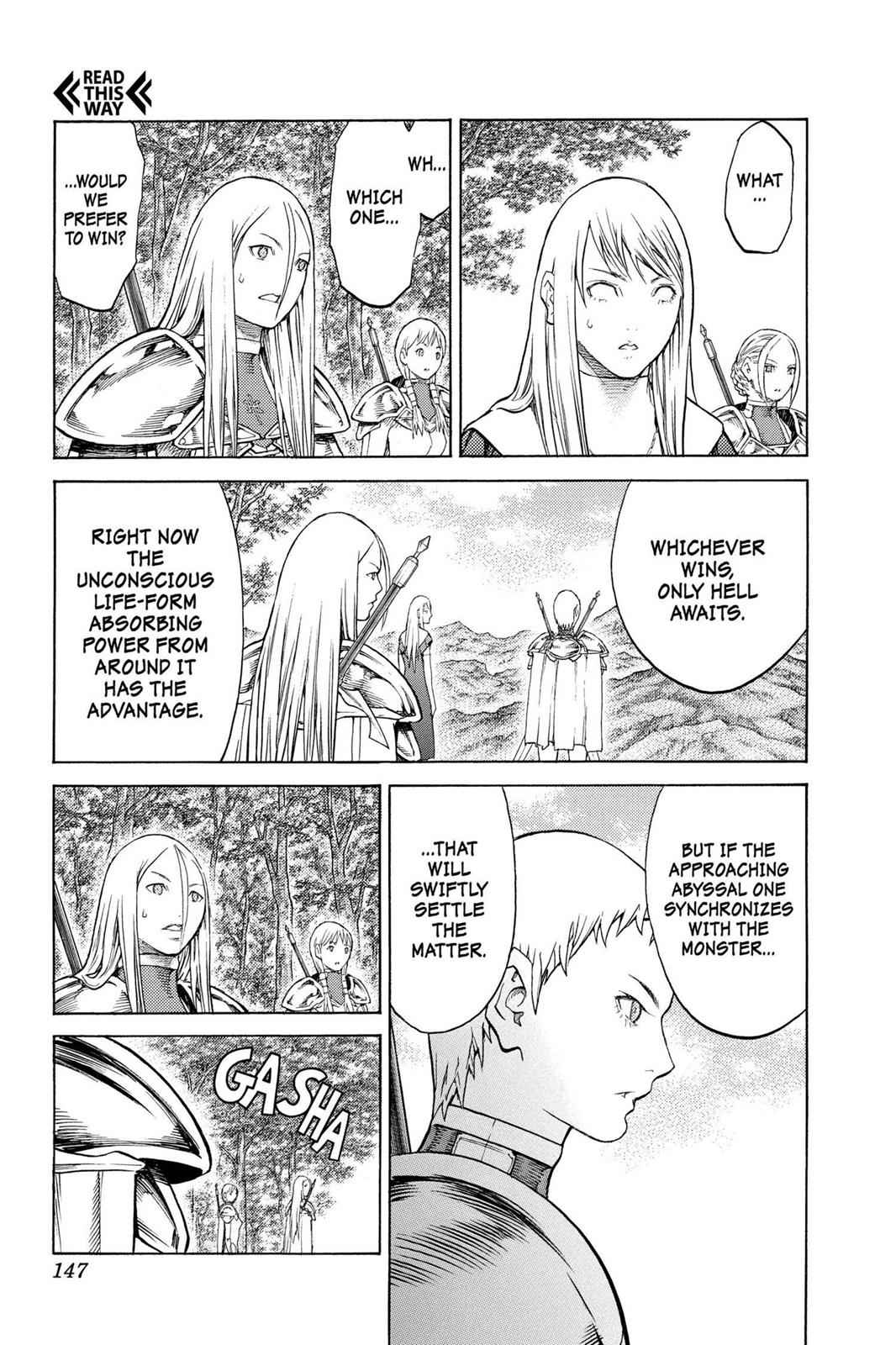 Claymore Chapter 130 Page 15