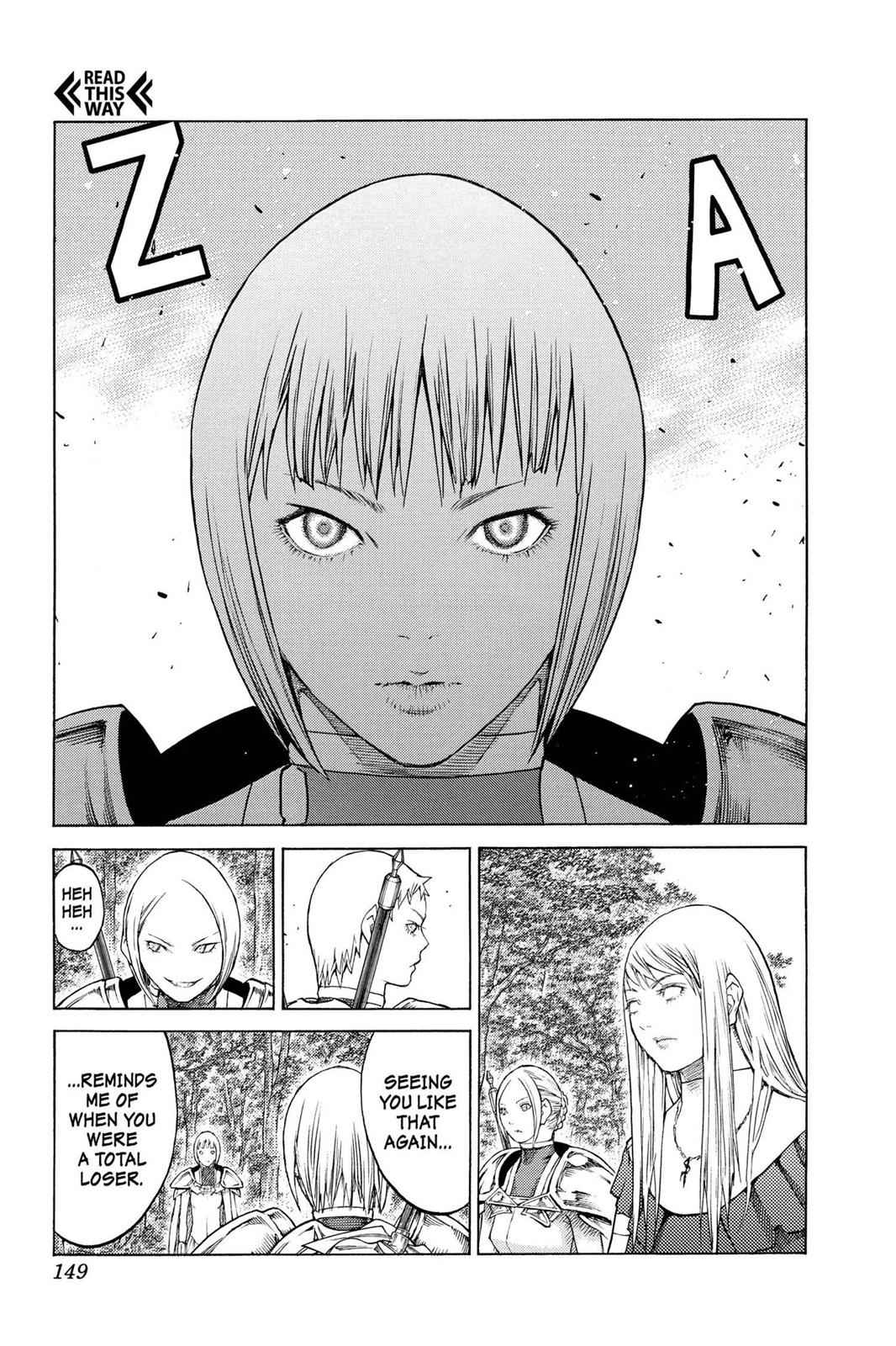 Claymore Chapter 130 Page 17