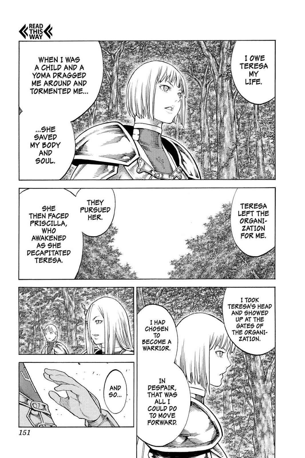 Claymore Chapter 130 Page 19