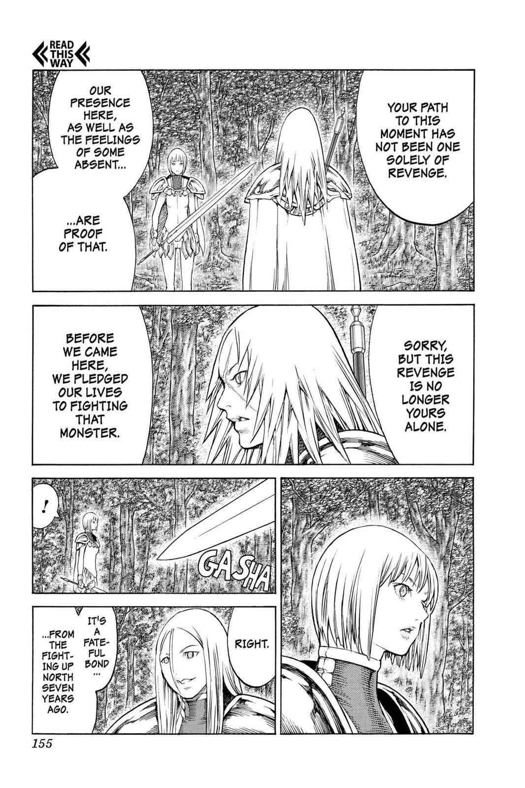 Claymore Chapter 130 Page 23