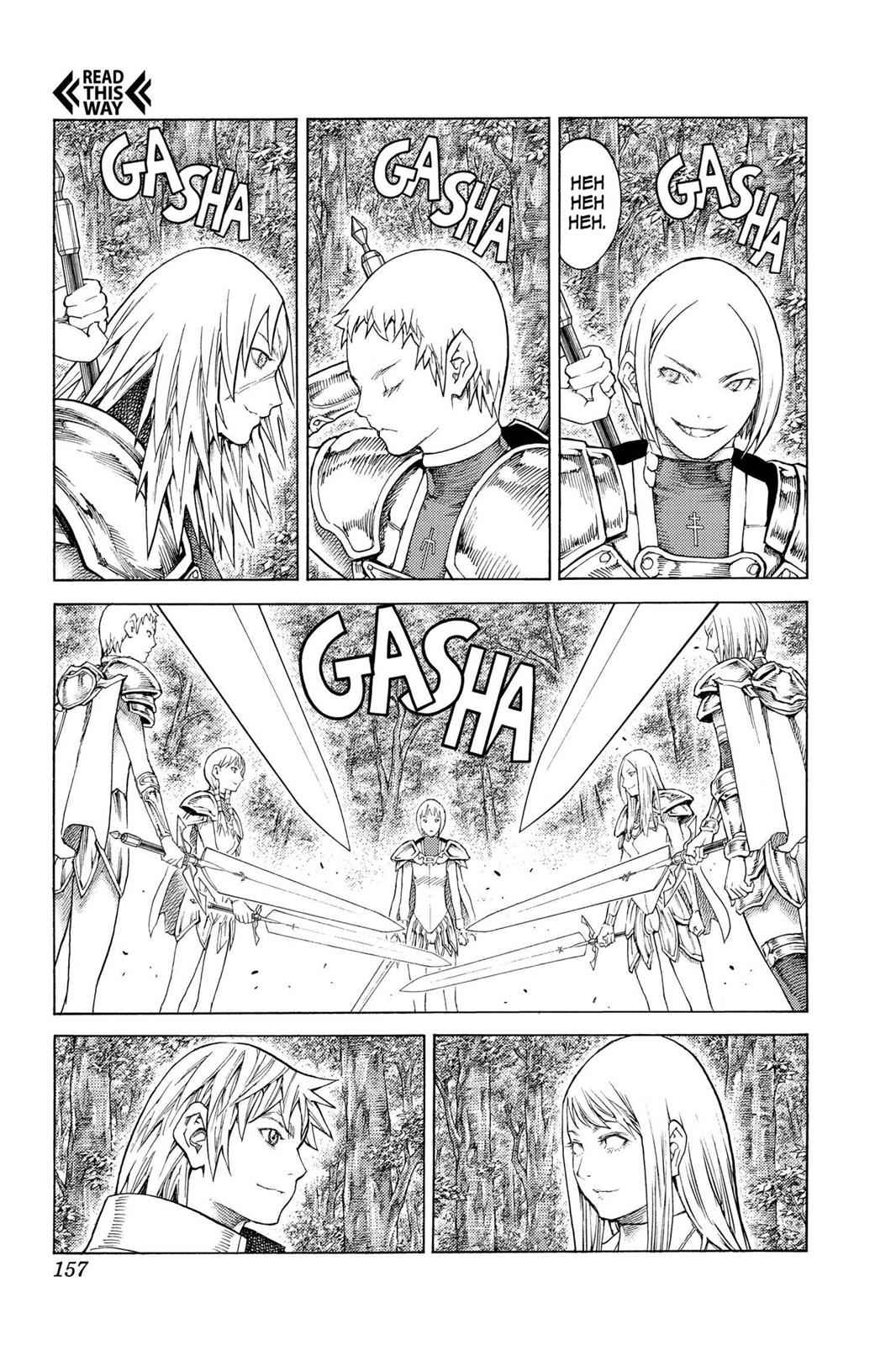 Claymore Chapter 130 Page 25