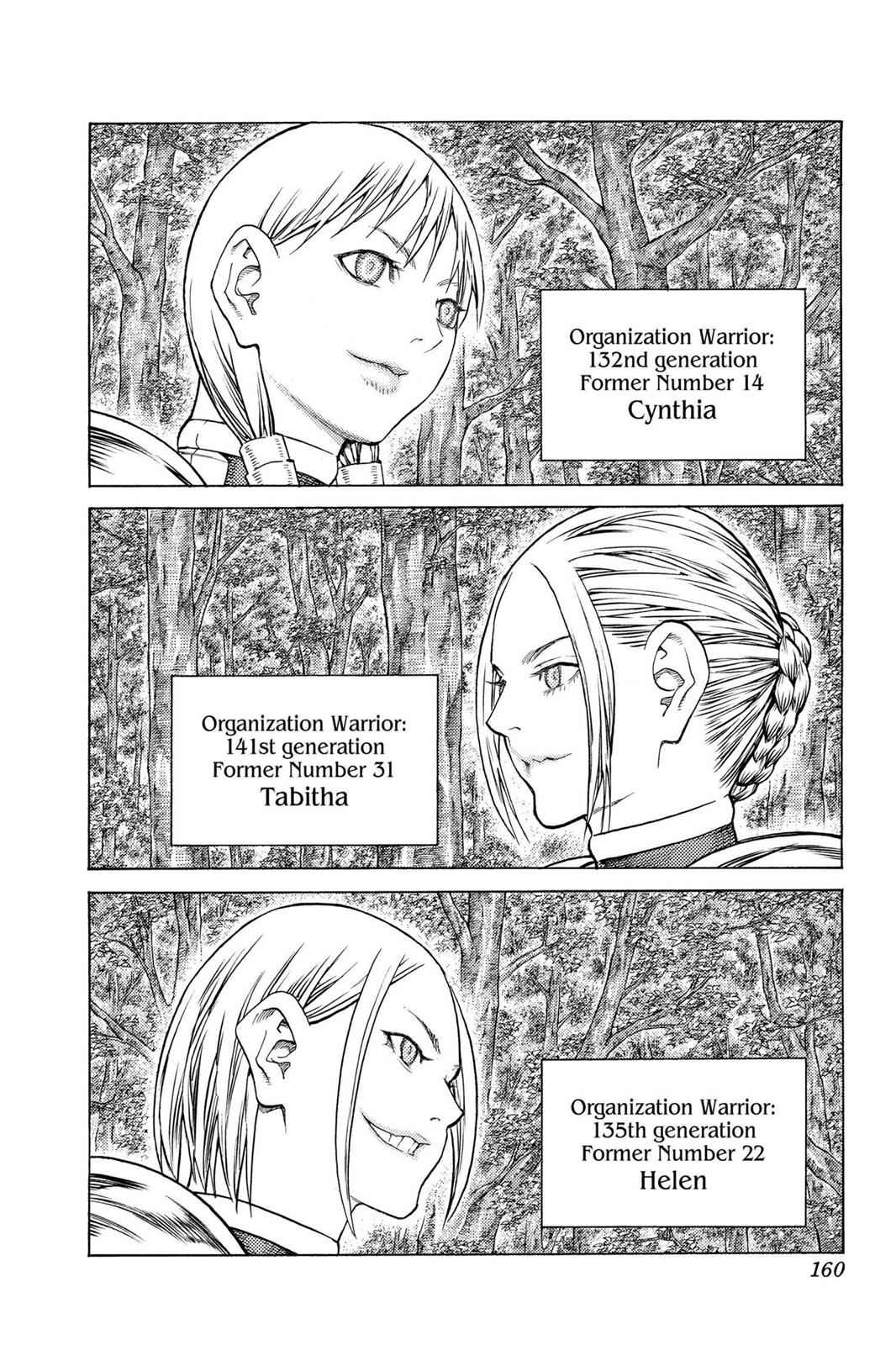 Claymore Chapter 130 Page 28