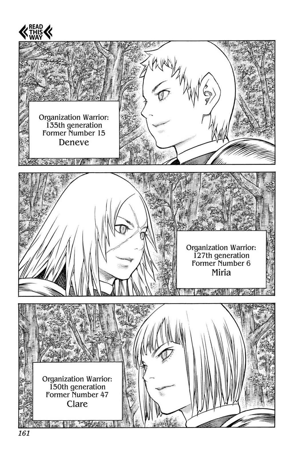 Claymore Chapter 130 Page 29