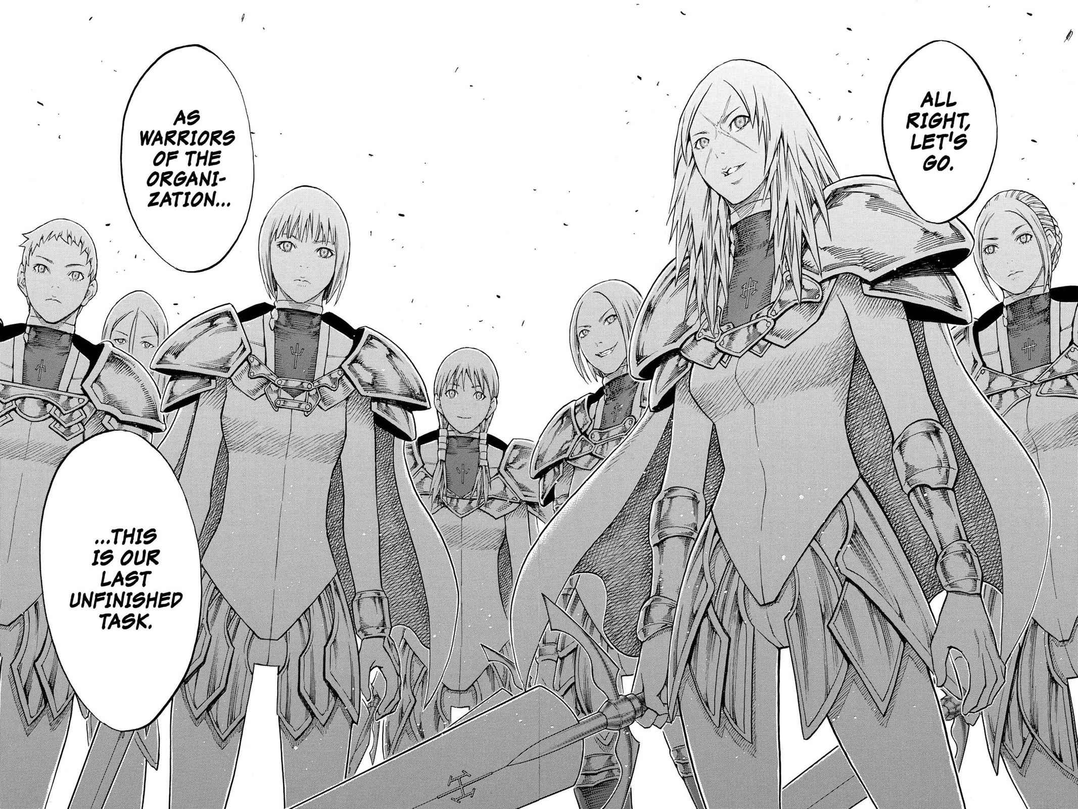 Claymore Chapter 130 Page 30