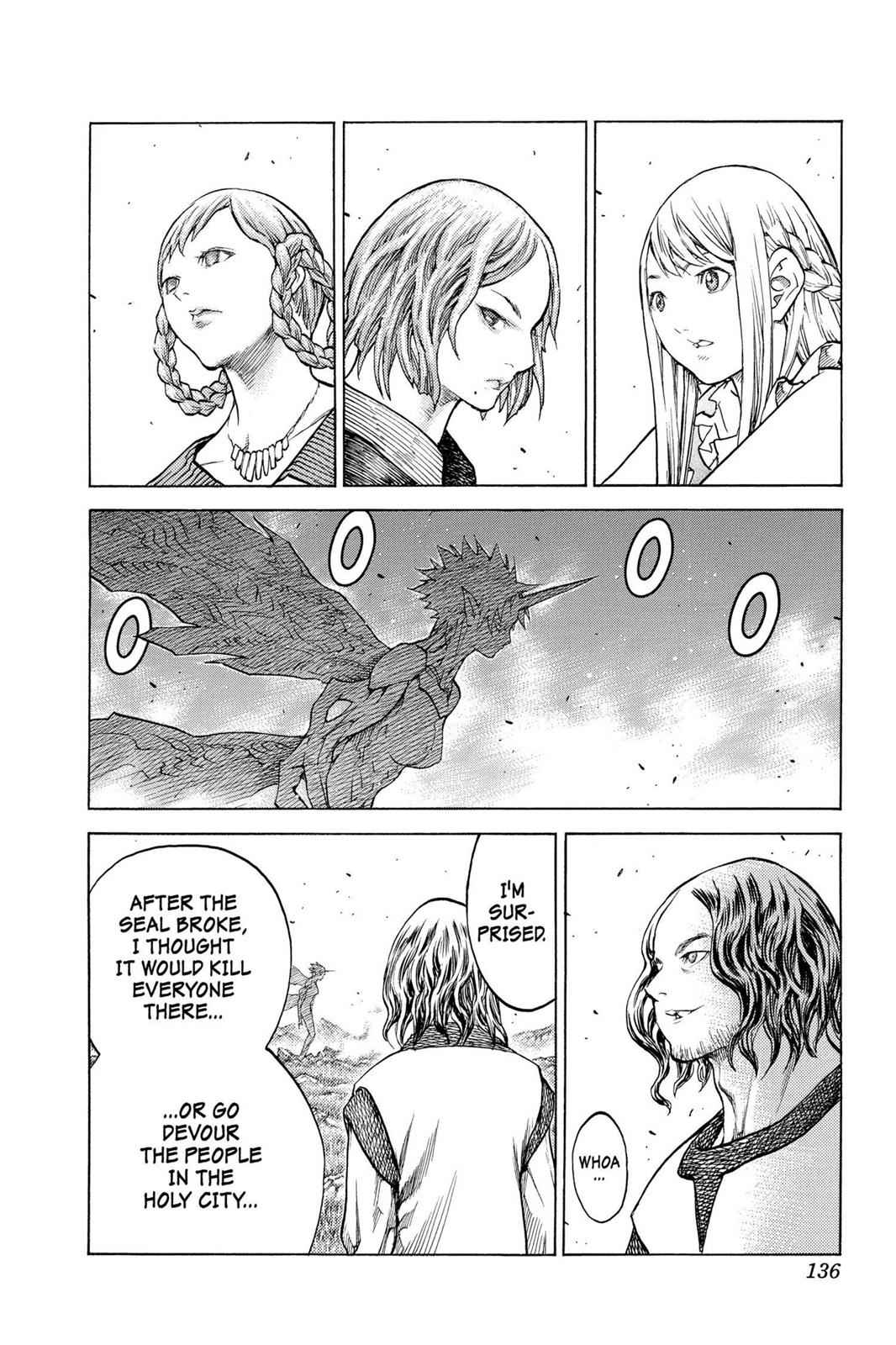 Claymore Chapter 130 Page 5