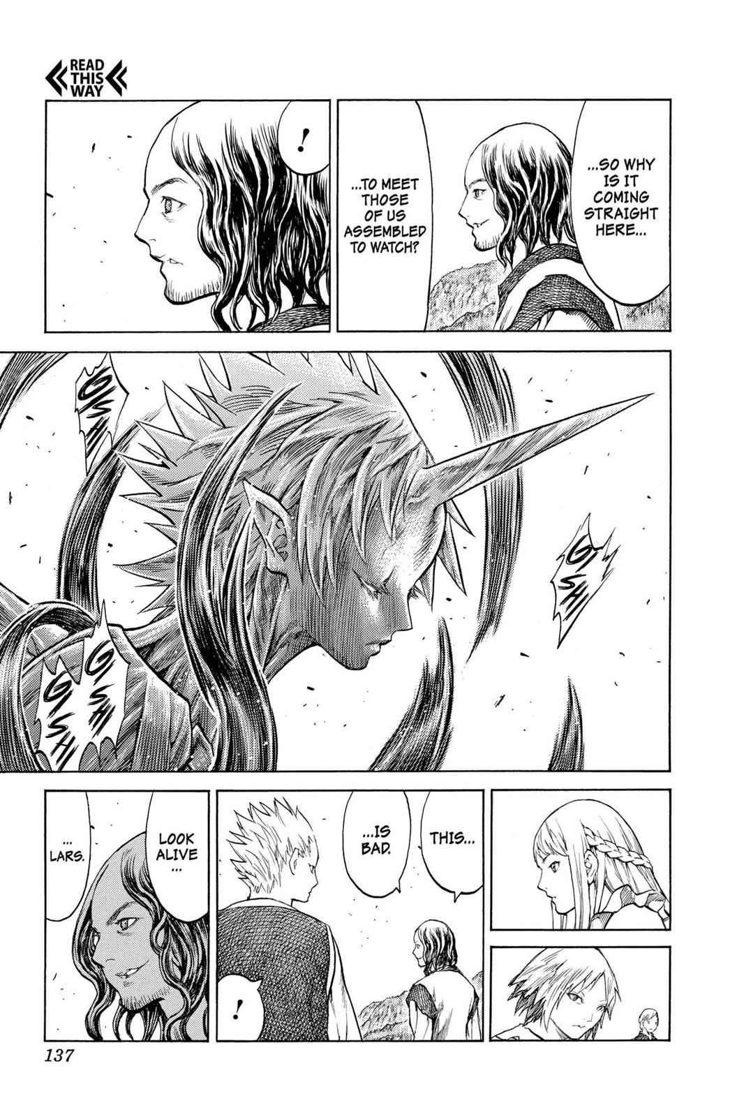 Claymore Chapter 130 Page 6