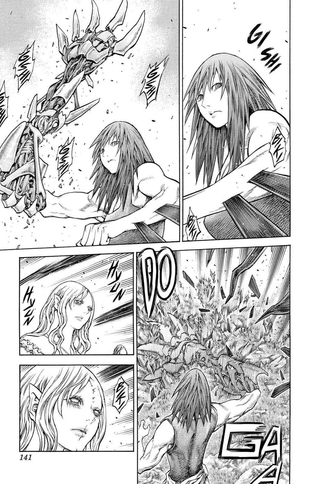 Claymore Chapter 130 Page 9