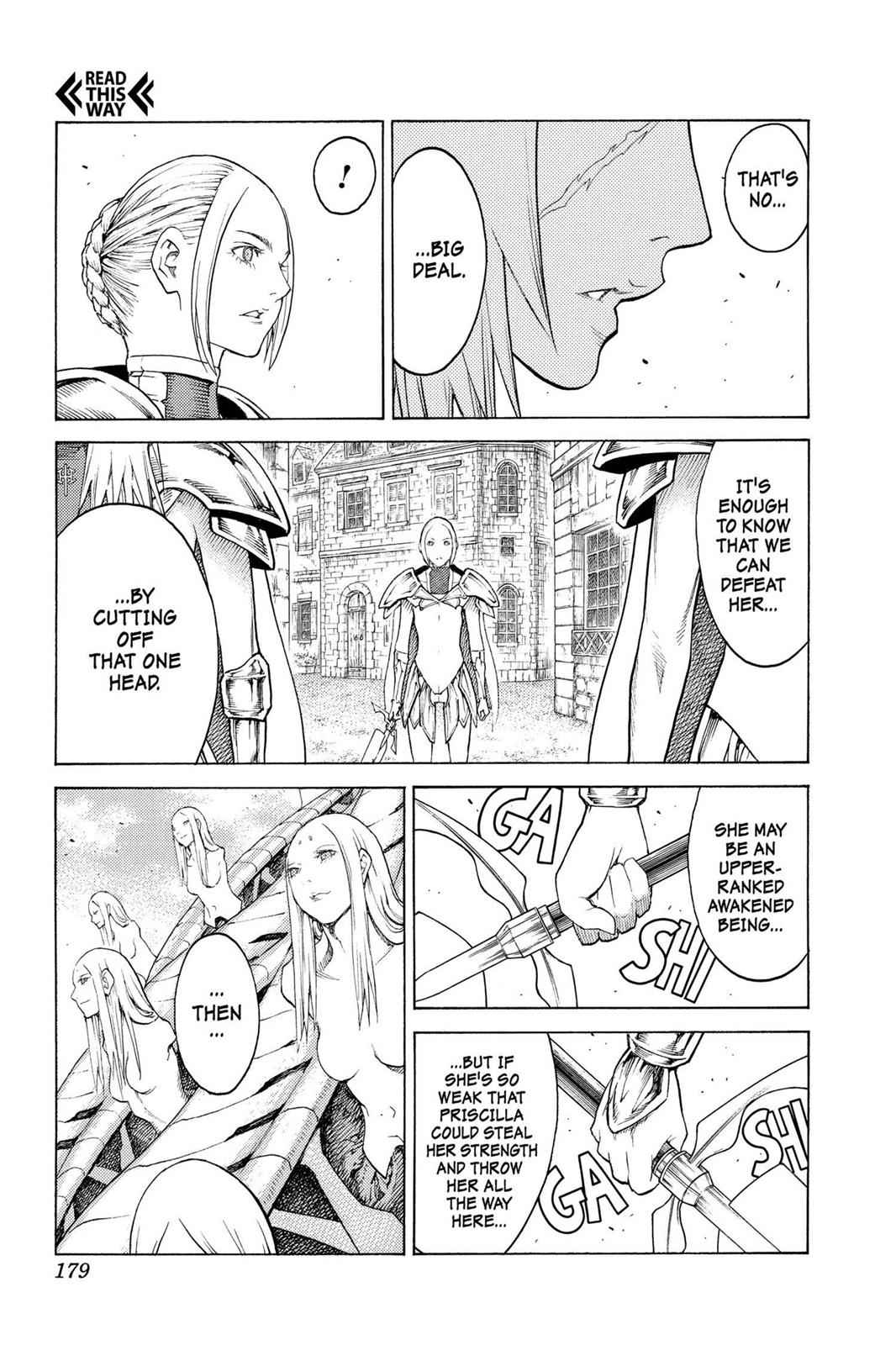 Claymore Chapter 131 Page 14