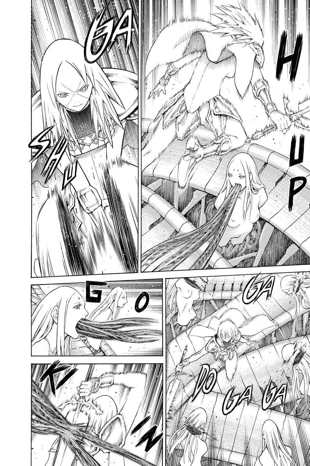 Claymore Chapter 131 Page 17