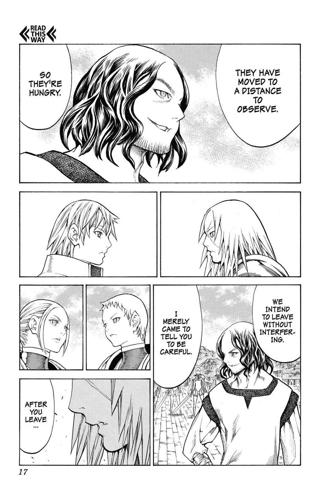 Claymore Chapter 132 Page 17