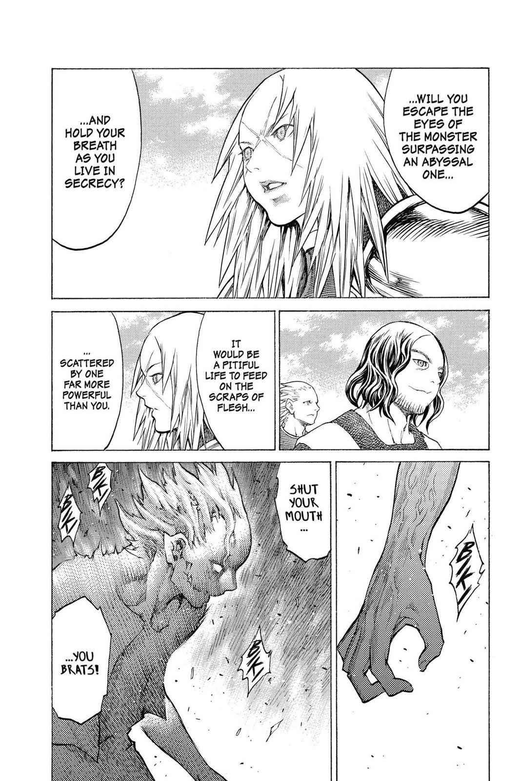 Claymore Chapter 132 Page 18