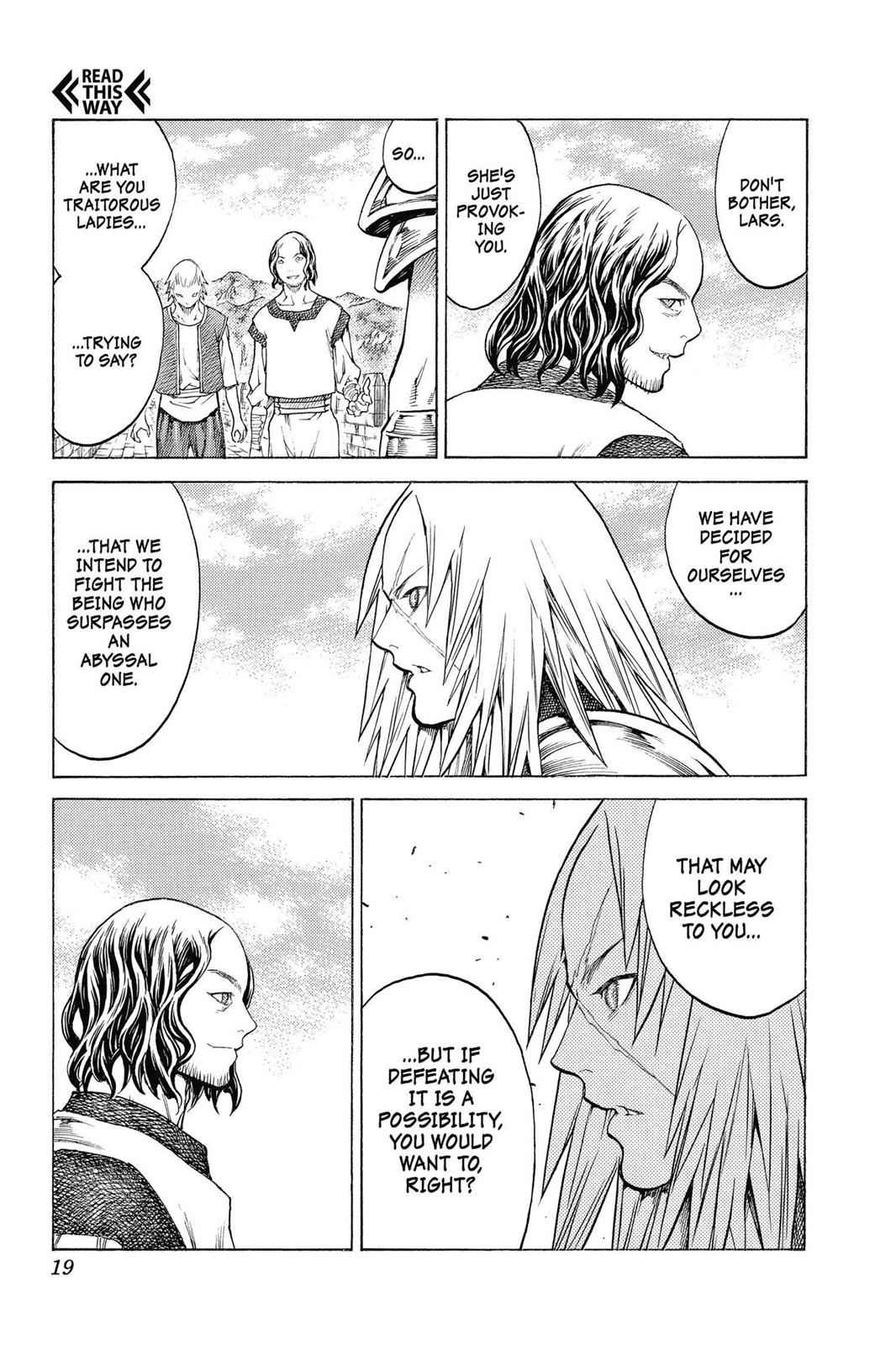 Claymore Chapter 132 Page 19