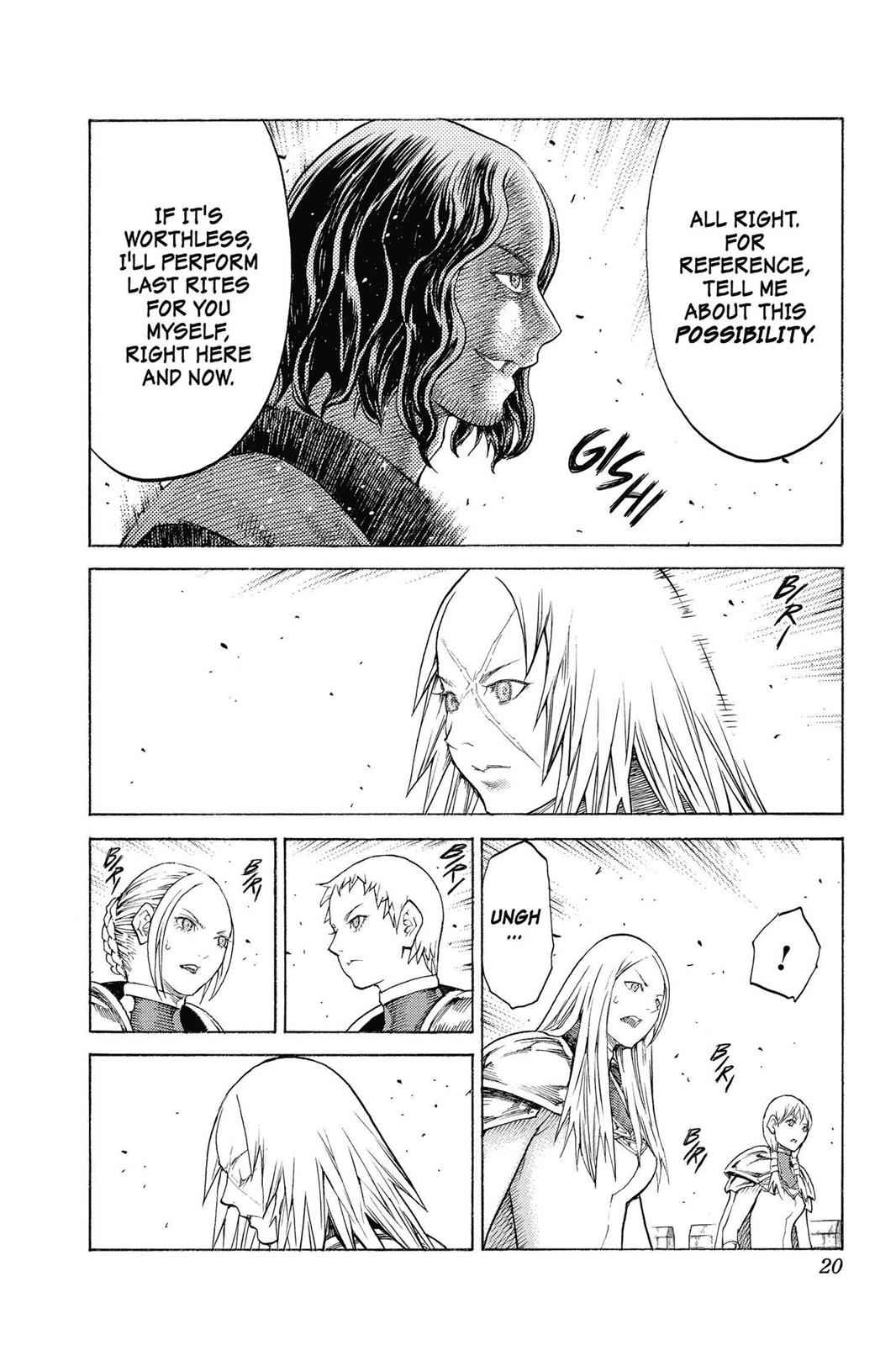 Claymore Chapter 132 Page 20