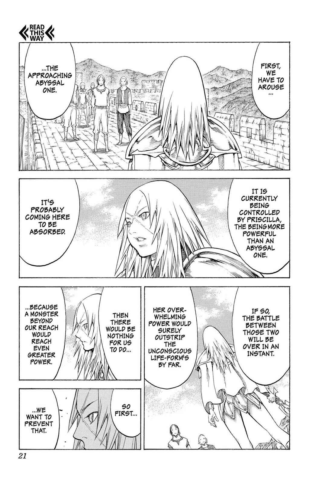 Claymore Chapter 132 Page 21