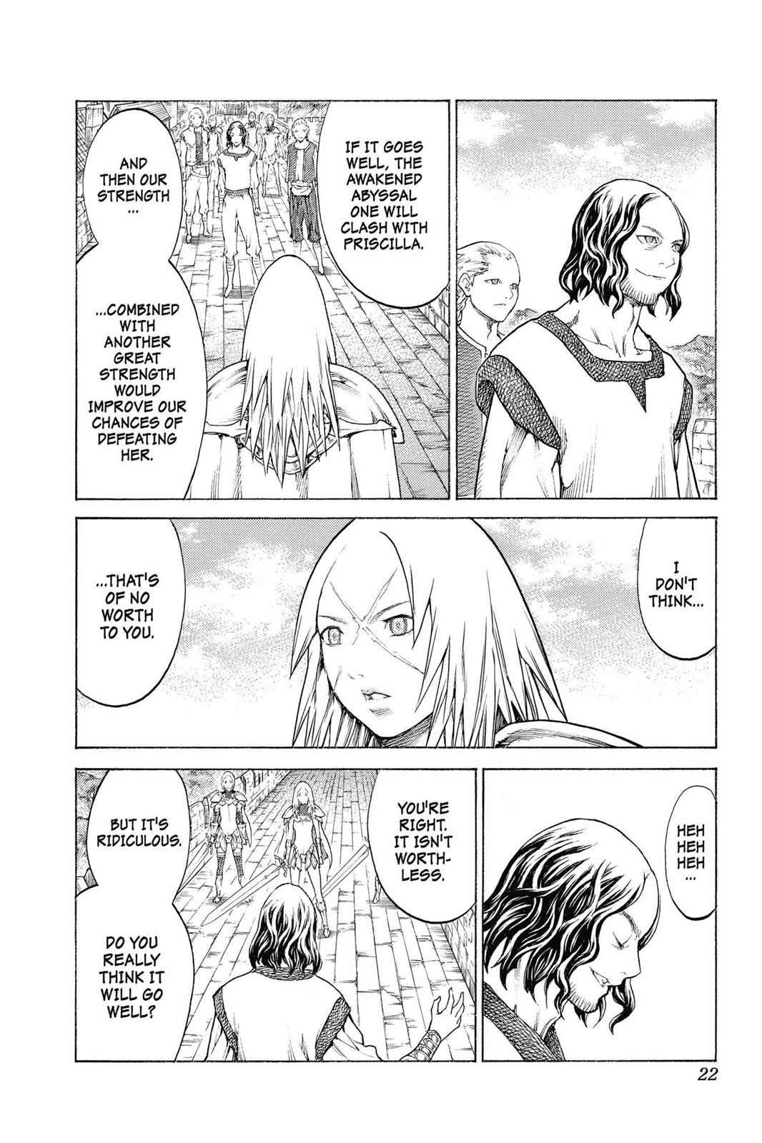 Claymore Chapter 132 Page 22