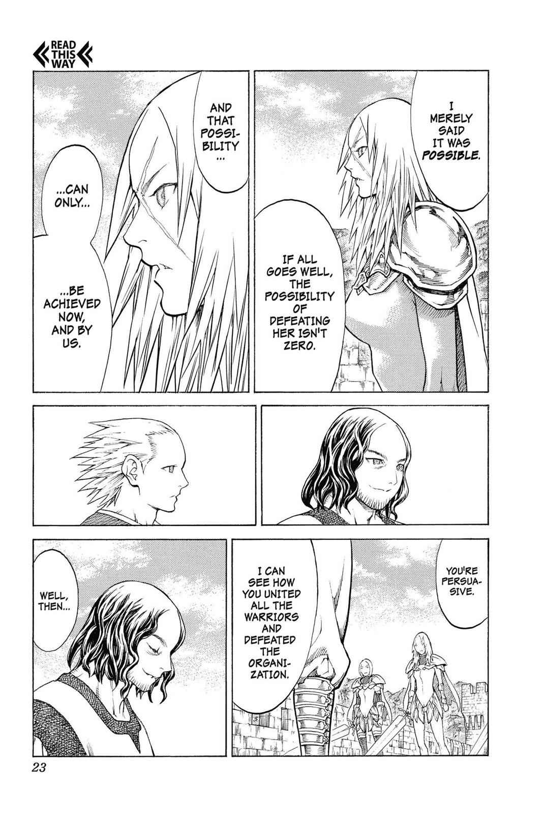 Claymore Chapter 132 Page 23