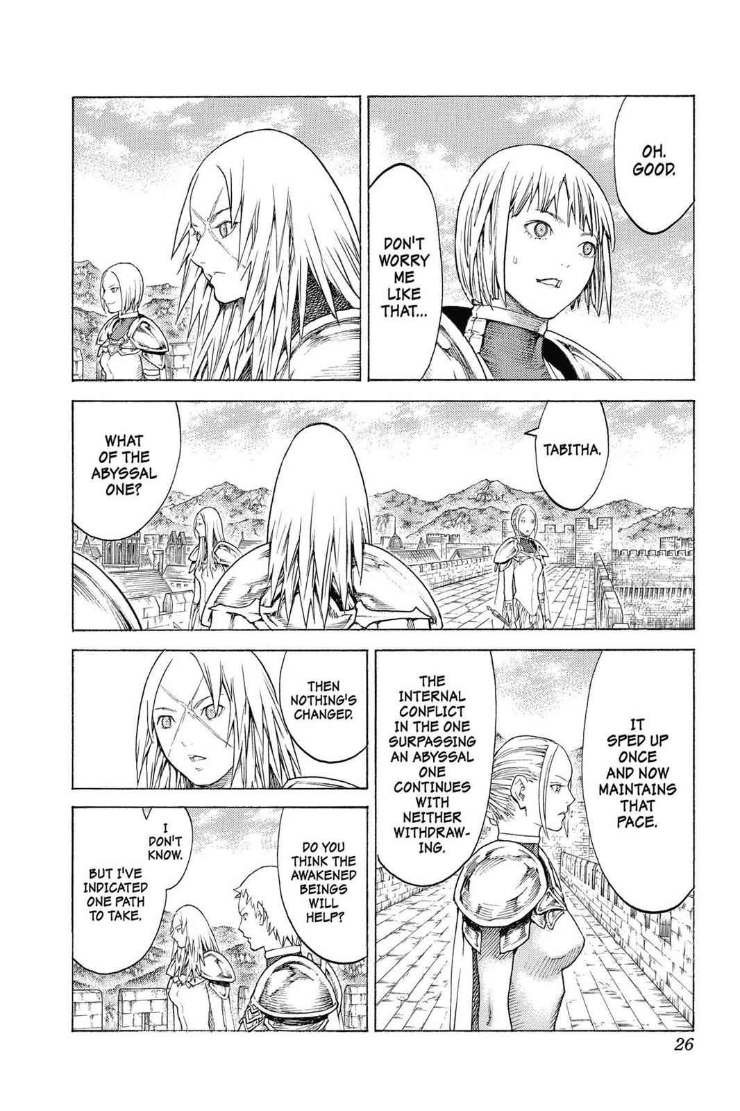 Claymore Chapter 132 Page 26