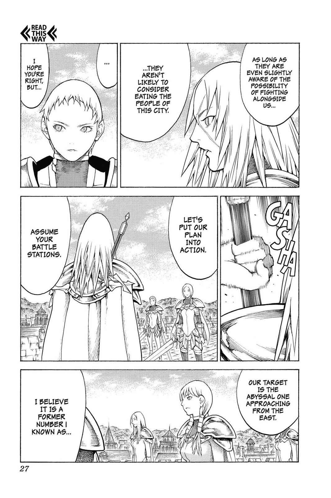 Claymore Chapter 132 Page 27