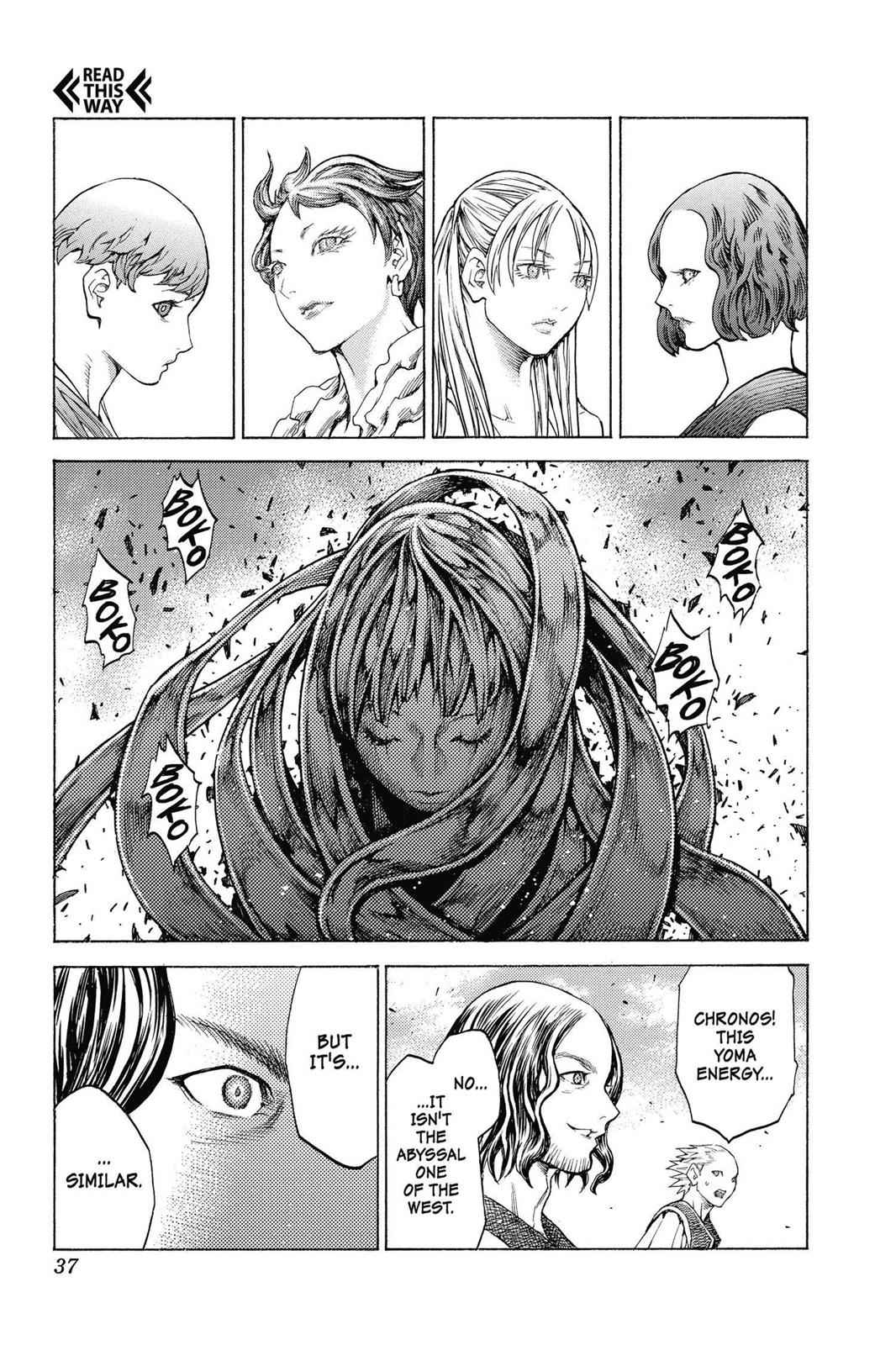 Claymore Chapter 132 Page 35