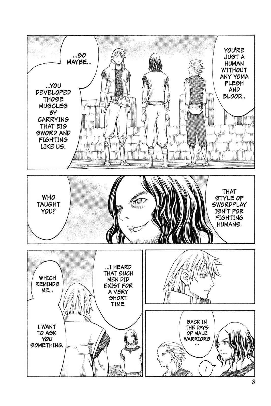 Claymore Chapter 132 Page 8