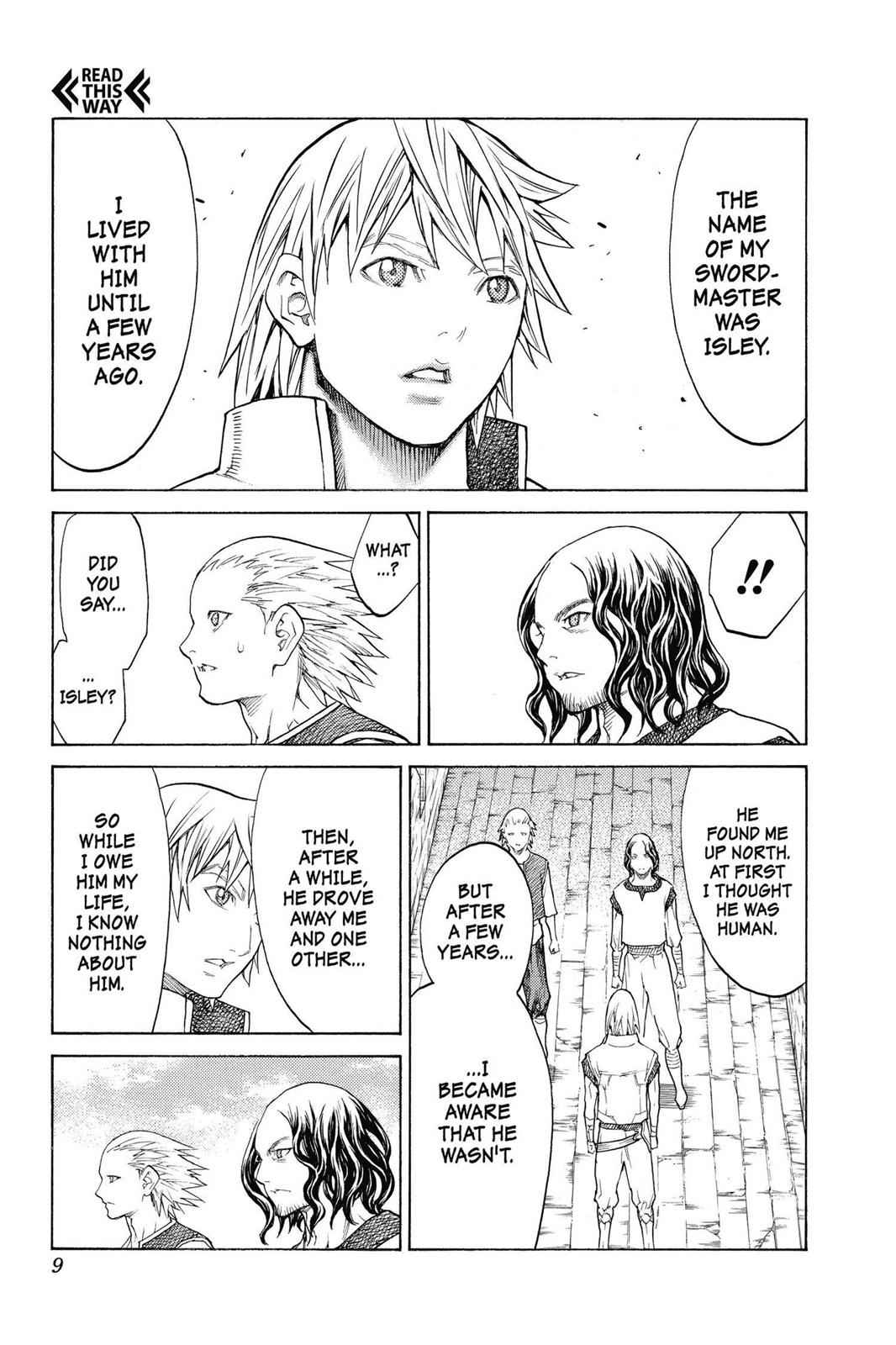 Claymore Chapter 132 Page 9