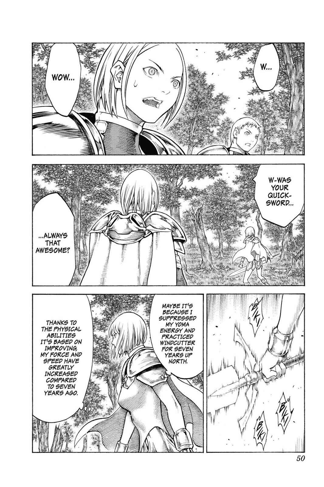 Claymore Chapter 133 Page 11
