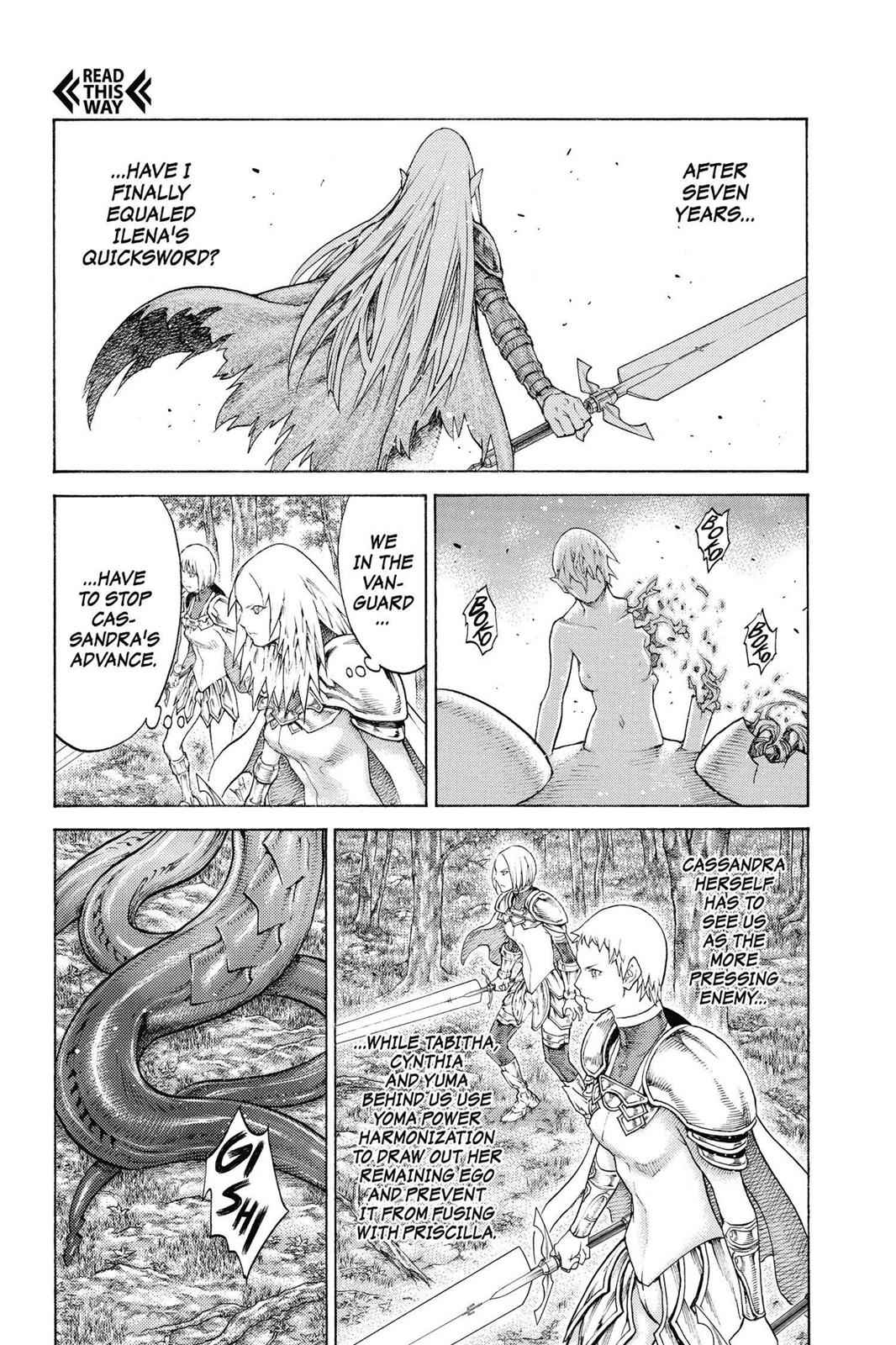 Claymore Chapter 133 Page 12
