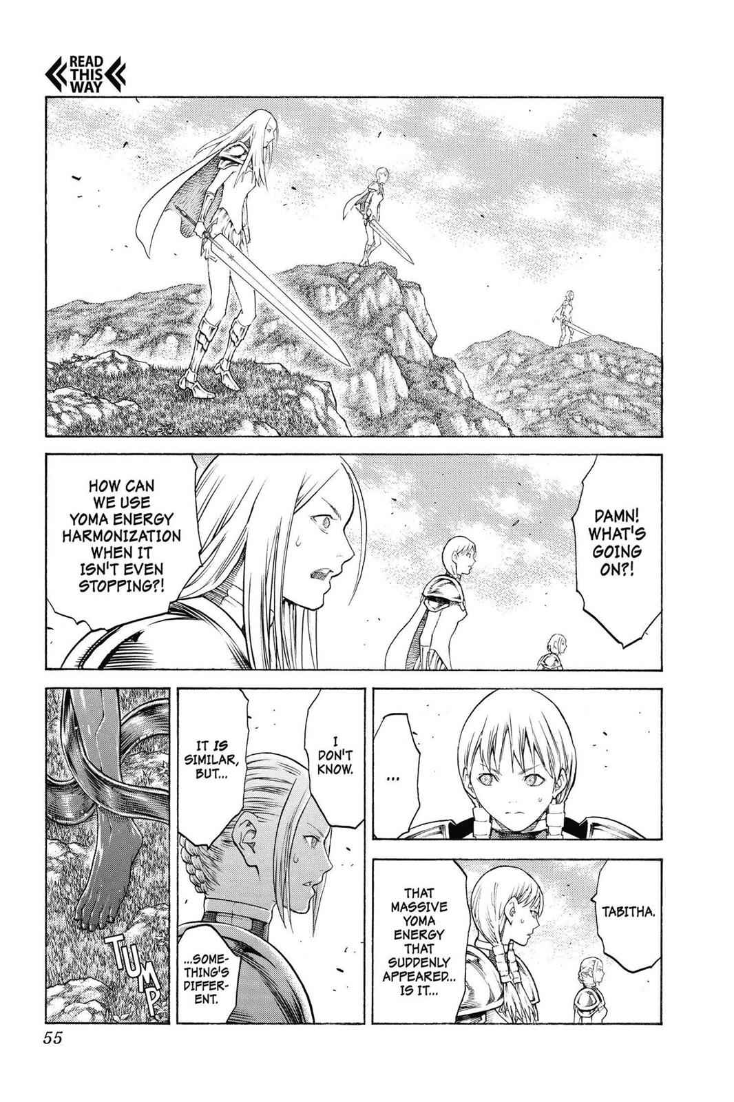 Claymore Chapter 133 Page 15
