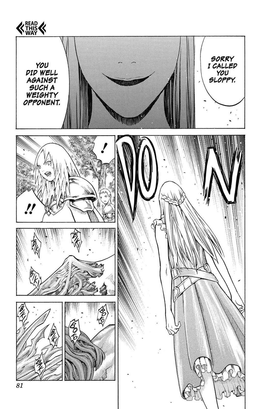 Claymore Chapter 134 Page 12