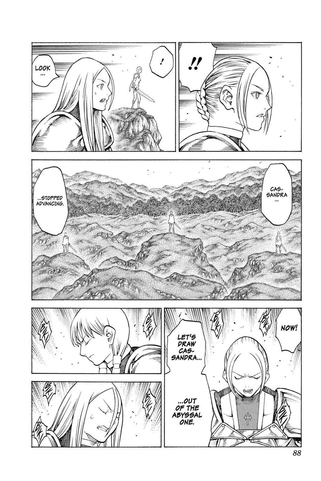Claymore Chapter 134 Page 18