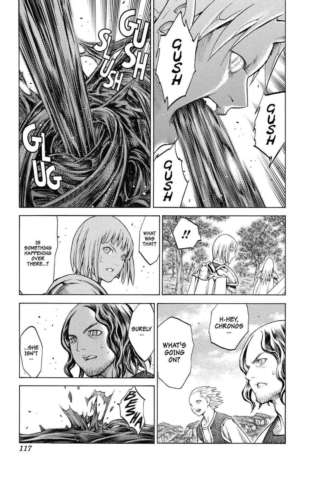 Claymore Chapter 135 Page 20