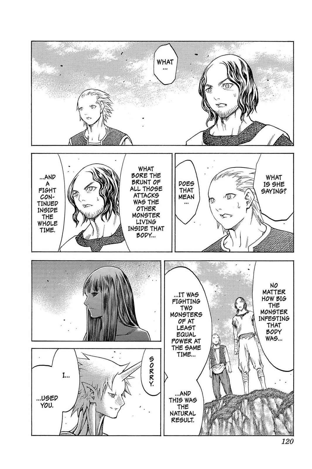 Claymore Chapter 135 Page 23