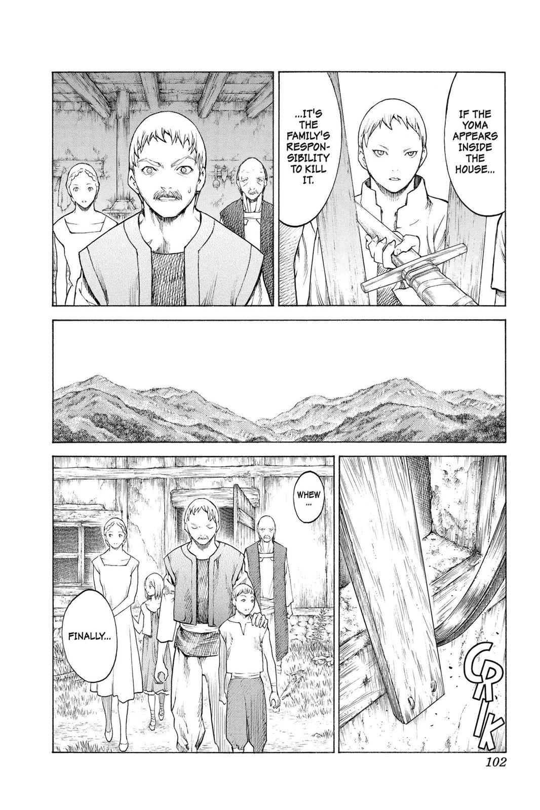 Claymore Chapter 135 Page 6