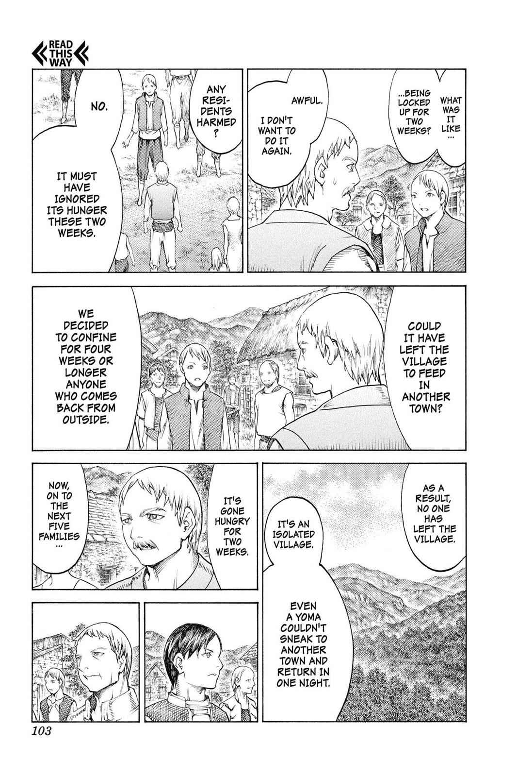 Claymore Chapter 135 Page 7